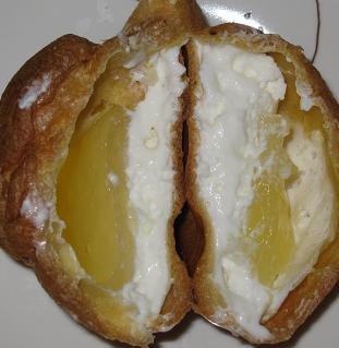 長門ゆずきち&蜂蜜のレアチーズシュー