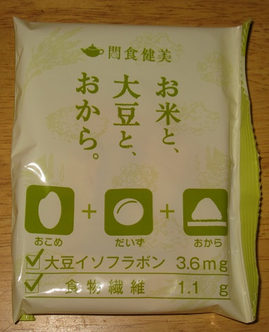 タニタ食堂監修のおやつ(しお味)大豆ブレンド