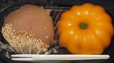 季節の実り栗とかぼちゃ