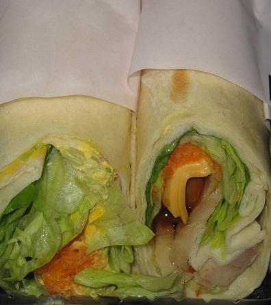 ハンディラップサラダ(照焼チキン&たまご)