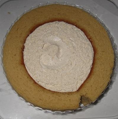 和三盆糖のロールケーキ(香川県産和三盆糖使用)