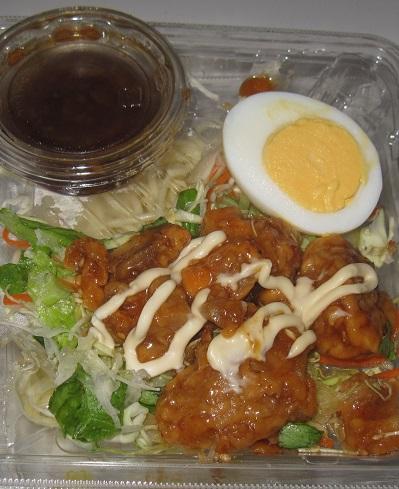 揚げない甘辛鶏マヨのパスタサラダ