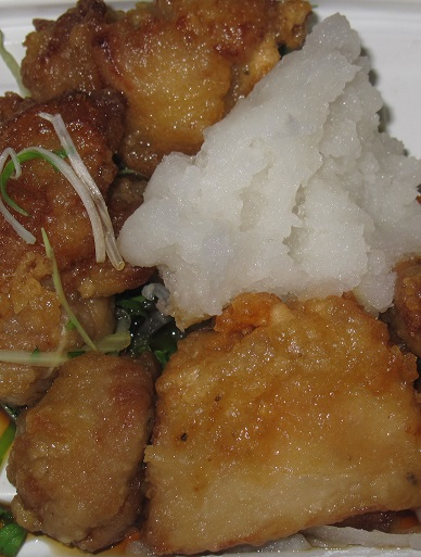 鶏唐揚おろしポン酢(千石台大根使用)