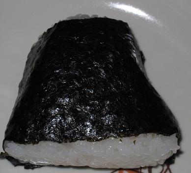 新潟コシヒカリおにぎり(大きな焼さけハラミ)