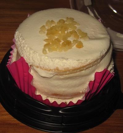 5枚重ねのパンケーキ(リコッタ入りクリーム)