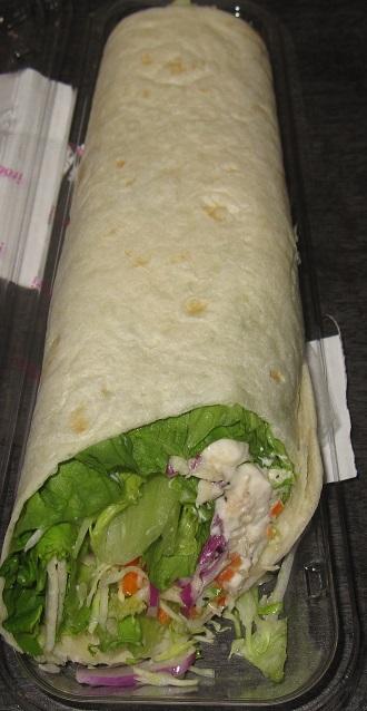 トルテーィヤ チキンシーザーサラダ