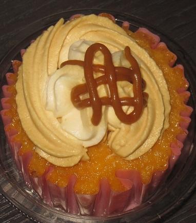 ふんわりカップケーキ(キャラメル)