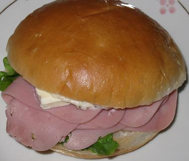 プチサンド(ハム&クリームチーズ)