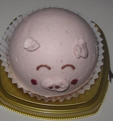 ぶたさんむーすけーき(イチゴ&チーズヨーグルト味風味)